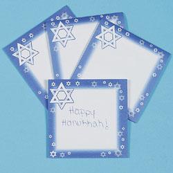 Star of david sticky notes