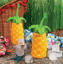 Plastic Palm Tree Cups