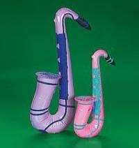 Inflate Saxophones