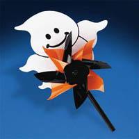 Plastic Ghost Pinwheels