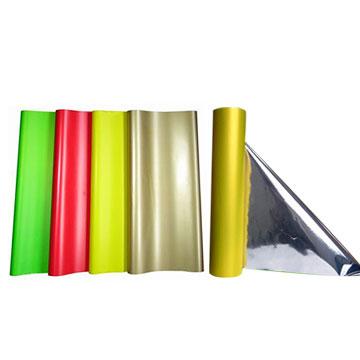 Solid Color Foil Wrap