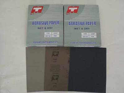 MT abrasive paper (waterproof abrasive paper( CC89P)