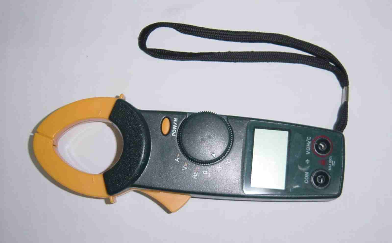 Clamp Meter With Temprature Functions