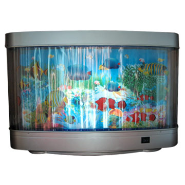 aquarium motion lamp