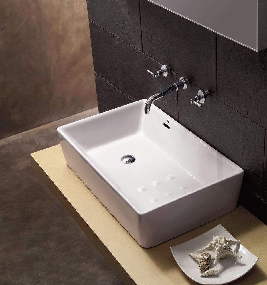 Italian Design Ceramic Wash Basin Ba1021 Manufacturer From