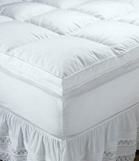 down comforter and matress pad