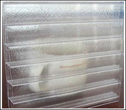 Frosted Triple-Wall Polycarbonate Sheet