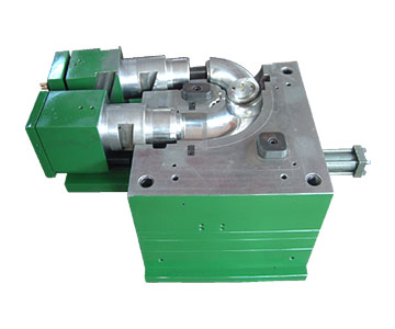 PE pipe fitting mold