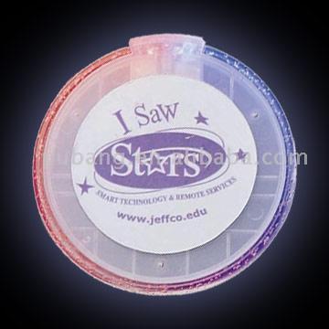 Flashing Disk Coaster