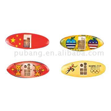 Mini Flashing Sticker