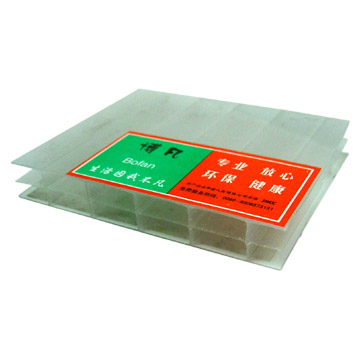 Hollow Polycarbonate Sheets 12MM