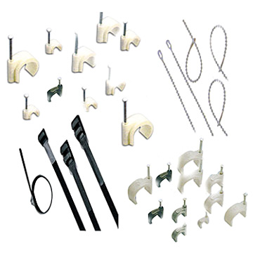 UL Cable Tie  and  Nail Clip