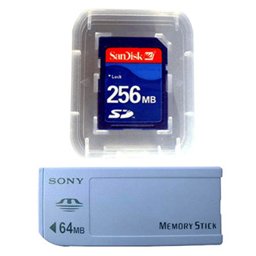 SD Card, Sony Memory Stick