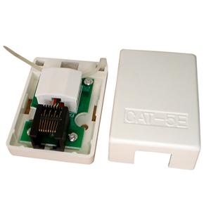 CAT5E surface mount box