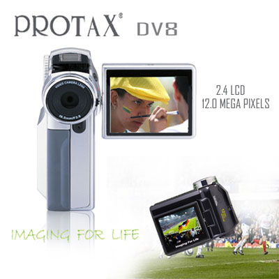 PROTAX DIGITAL CAMCORDER DV8