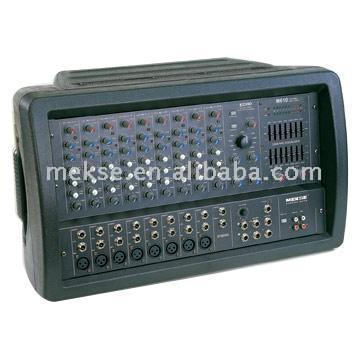 10 Channel Stereo Powered Mixers