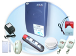 GSM Wireless burglar alarm system / gsm alarm / home alarm / security alarm / wireless alarm