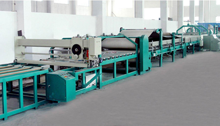 Honeycomb paper production line