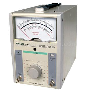 One-Channel AC Mill Voltmeter