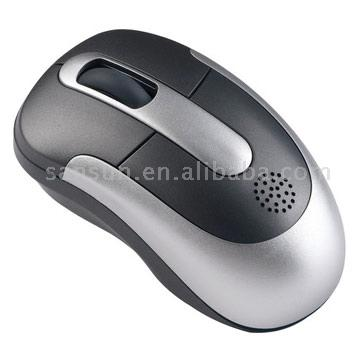 Optical Mouse With Bulitin Speakers