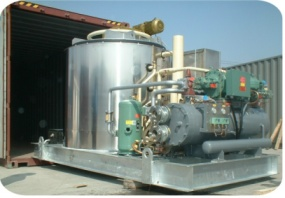 compactor ice machine production