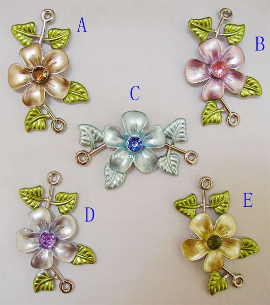 metal flower painted beads,imitation jewelry,arcylic beads,plastic beads