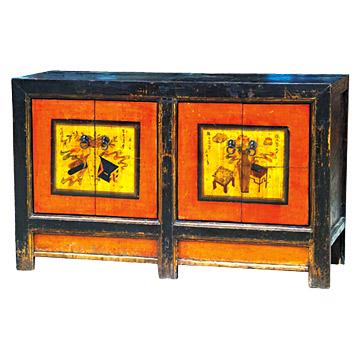Antique Mongolia Cabinets