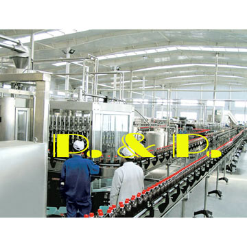 Carbonated Soft Drink Filling Lines