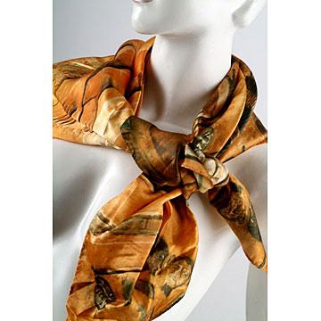 Silk Printed Scarfs