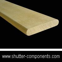 shutter louver, shutter blade, shutter components