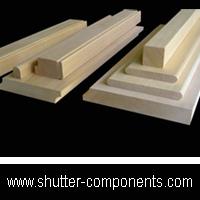 shutter components, shutter parts