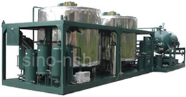 engine oil recycling plant nsh ger series