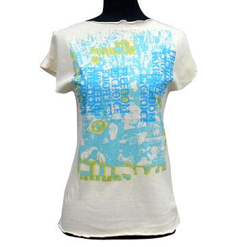 Rubber printing T-Shirt