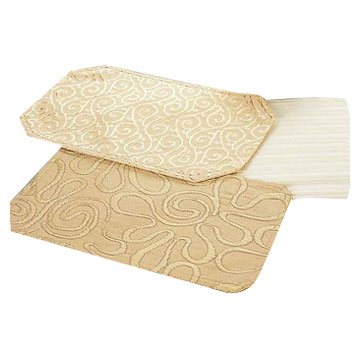 Damask Table Mats