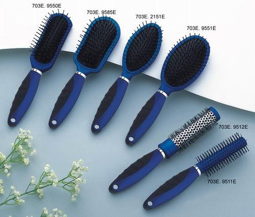 plastic hair brush for hair dresser