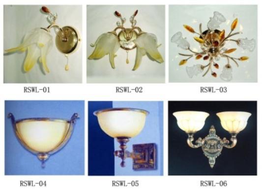 Wall lamp  Lighting  Lampshade  Crystal  Electron OEM
