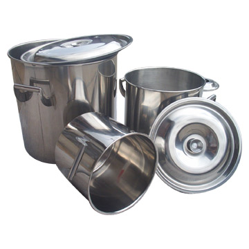 Stainless Steel Cylinder Tubs