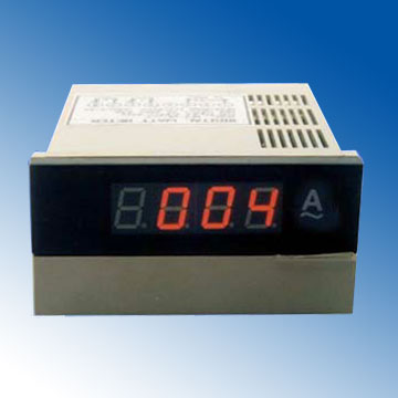digital panel AC ammeter