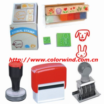 Wooden Stamp, Wood Stamp, Rubber Stamp, Stamp Pad