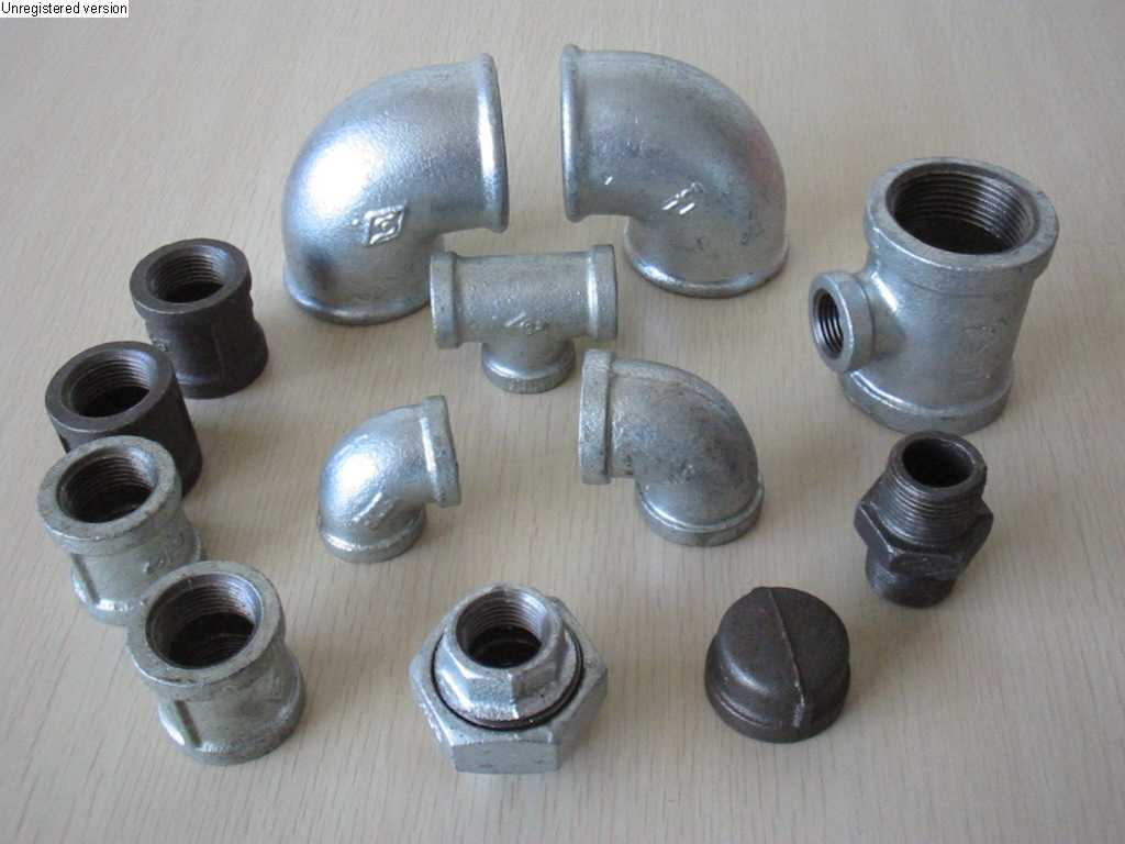 Malleable iron pipe fitting from china manufacturer