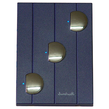 Triple Touch Light Switches