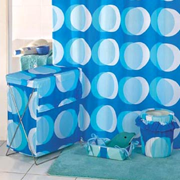 Circle Shower Curtains