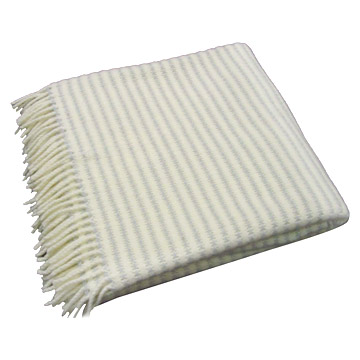 Pure Wool Leno Brushed Throws