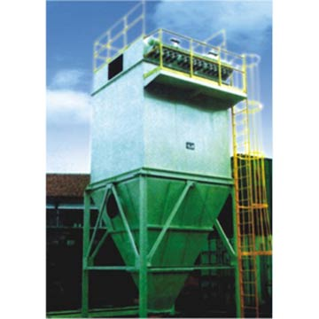 Impulse Single Machine Bag Fabric Filter Dust Collector