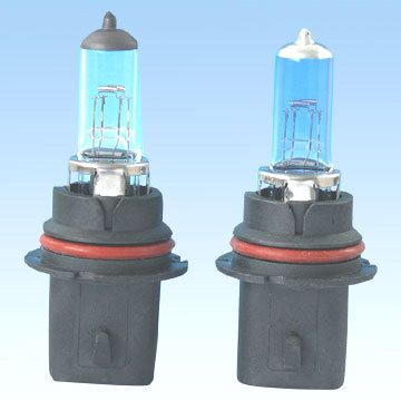 Halogen Lamps with Xenon Gas