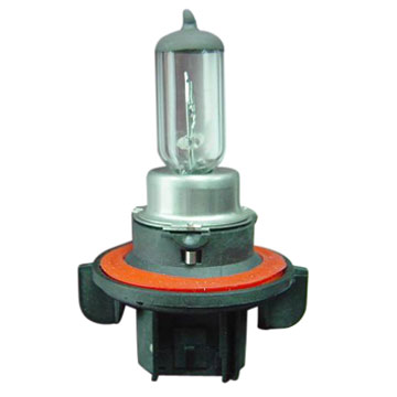 Halogen Bulb with Xenon Gas