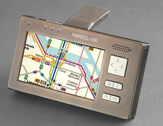 4'' TFT GPS with pmp