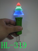 Flashing X'mas Tree with key-ring