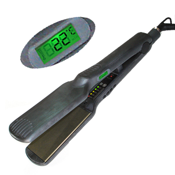 LCD Display Hair Straightener