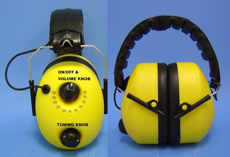 Ear Muff With Radio